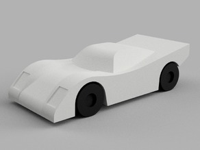 Mini Cars - Le Mans Racecar