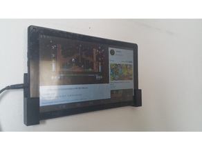 Tablet wall mount Universal customizable