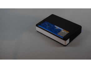 Wallet box with credit card holder