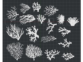 Coral 2D Wall Art