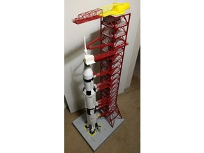 Launch Umbilical Tower for Lego Saturn V