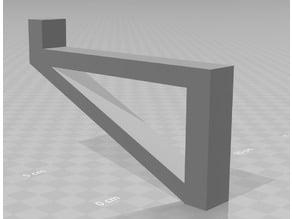2 x 4 shelf bracket