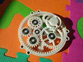 Gear toy - meshing gears