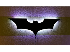 Batman LED wall lamp
