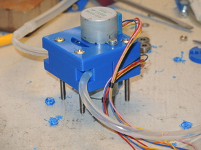 Low cost peristaltic pump