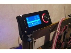 VIKI 2 LCD Prusa i3 mount