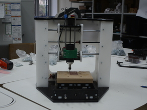 123Mill - DIY CNC Desktop milling machine