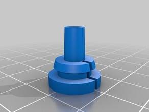 Cable rubber gland / grommet parametric Fusion360