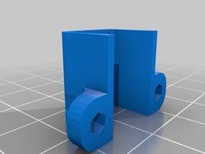 Micro metal gear motor housing