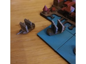 A tiny Ship Meeple