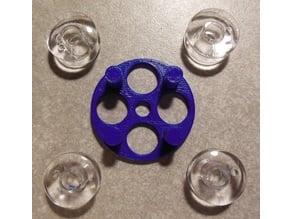 Quad Magnet Wire Coil Holder