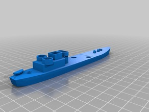 Landing Craft - Guns (Medium): 1:300