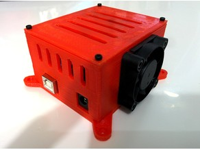 Enclosure for Arduino Uno and CNC Shield