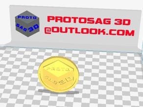 Protosag3D coin