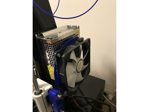 Anet A8 120mm fan holder for power supply