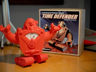 Kongotronic 3000 TIME DEFENDER Robot Clock