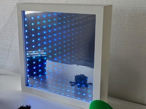 IKEA Ribba Infinity Mirror frame