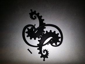 Seahorse Gear Pin