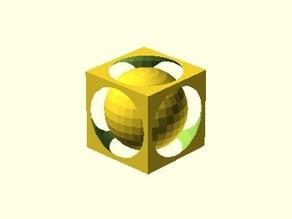 Sphere in Cube