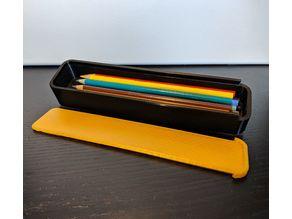 Sliding Top Pencil Case