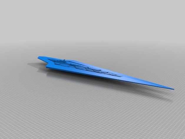 Executor Super Star Destroyer by organisM - Thingiverse