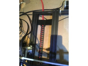 CR-10S 5S y Axis Cable chain Mount