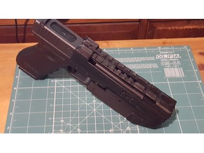 """""""Corvo"""" Glock front end (airsoft)"""