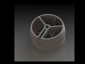 Sail protection wheel for yacht