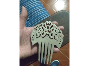 antique comb/ peineta antigua