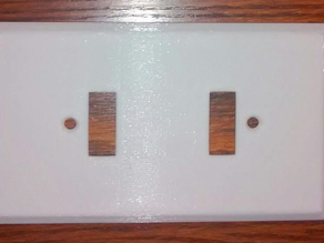 DC Light Switch Plate