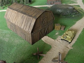 Wargame: 20mm barn