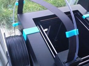 Zortrax M200 Plus set (Sidemount spoolholder, filamentguide, clips, fan shroud and label)