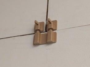 Double Door / Cabinet Latch