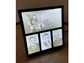 Lithophane Light Box Frame