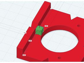Euro (concealed) Hinge Drill Template_remix