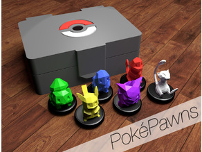 PokéPawns: generic-use pokemon game pieces