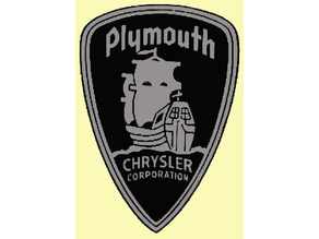 1949 to 1958 Plymouth badge