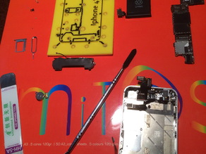Iphone 4S Screw disassembler Template, sortier you Screw to repair you iphone