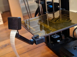 MakerGear M2 Camera Mount for Raspberry Pi