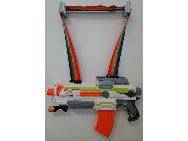 NERF Gun Shoulder Sling Rail Mounts (2