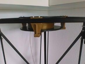 lowered version of Kossel top spool holder