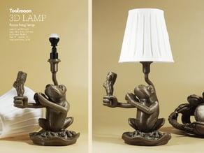focus frog lamp