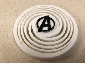 Spiral Fidget Spinner