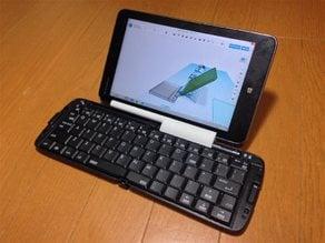 Tablet stand for REUDO RBK-3000BT foldable keyboard + Lenovo Miix 2 8