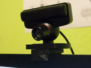 PS3 Eye Monitor Cam Holder