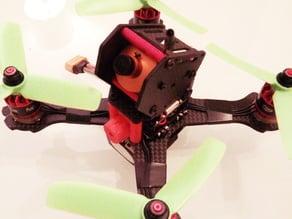Buzzer mount for 155mm QA-X4 quadcopter
