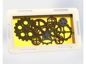 Steam Punk clockwork leg gearbox
