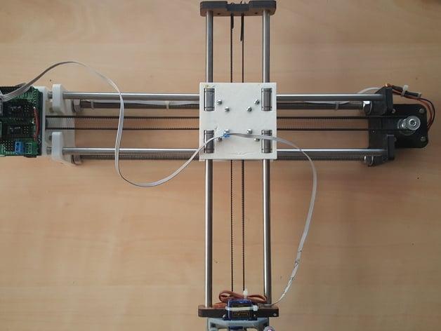 4xiDraw Drawing machine by misan - Thingiverse