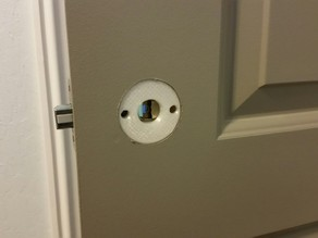 Door knob insert shims