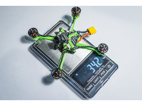 1S/2S Toothpick CrazyBee frame, Whoop VTX mount and CaddX EOS2 camera mount